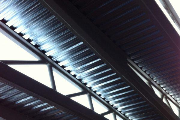 Oudshoorn Alphen a/d Rijn - Staalplaat-betonvloer